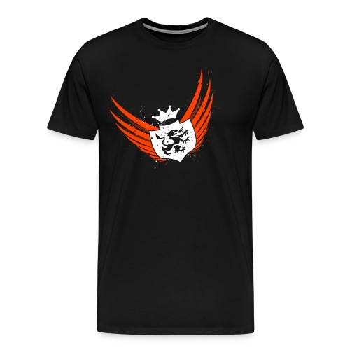 Orange Wings 3X - Men's Premium T-Shirt