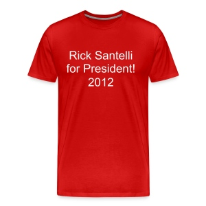 Rick Santelli for President! 2012 - Men's Premium T-Shirt