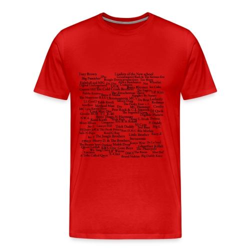 Top rappers - Men's Premium T-Shirt