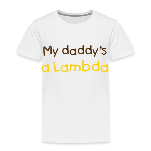 Future Lambda(change colors and text) - Toddler Premium T-Shirt