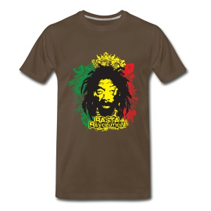 Rastafarian Revolution - Men's Premium T-Shirt