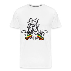 Rasta Shield - Men's Premium T-Shirt