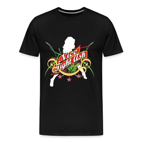 Classic Nice Tight Ash Shirt - Men's Premium T-Shirt