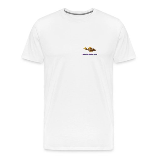 Planet L014 White Tee - Men's Premium T-Shirt