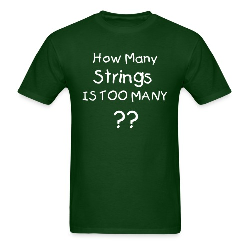 How many Strings - Men's T-Shirt