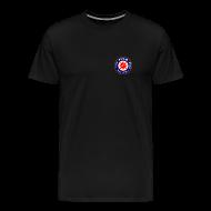 T-Shirts ~ Men's Premium T-Shirt ~ Men's Tee - Small logo front, big on back