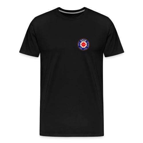 Men's Tee - Small logo front, big on back - Men's Premium T-Shirt
