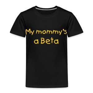 Future Beta (change colors and text) - Toddler Premium T-Shirt