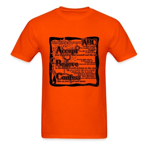 Salvation ABC - Men's T-Shirt