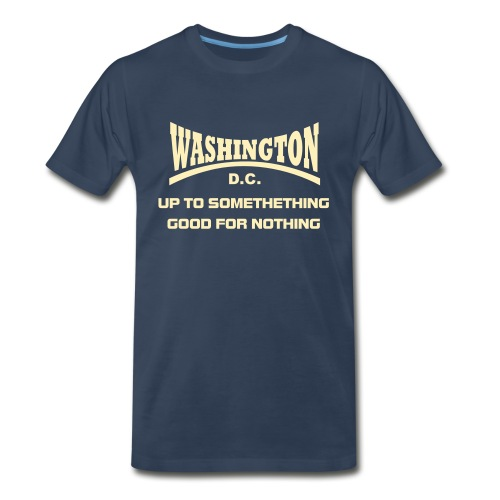 Washinton DC - Men's Premium T-Shirt