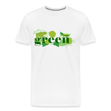 Natural Green T-Shirts
