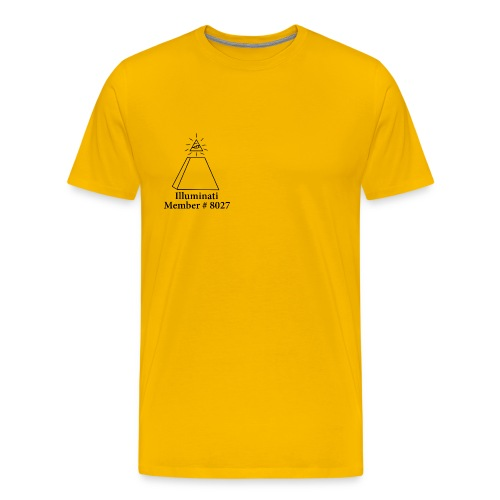 Official Illuminati Member - Men's Premium T-Shirt
