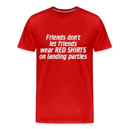 Red shirt - Men's Premium T-Shirt