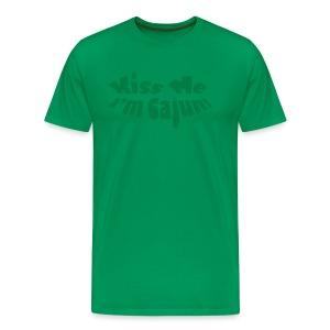 Kiss Me Im Cajun - Men's Premium T-Shirt