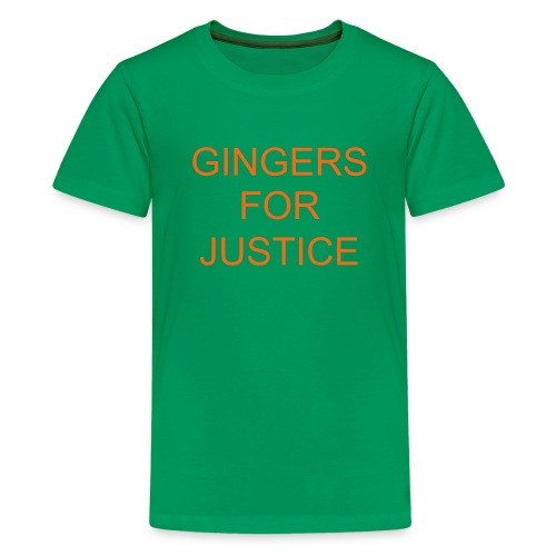 GINGERS FOR JUSTICE - Kids' Premium T-Shirt