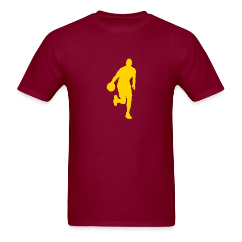 BASKETBALL ..PICK YOUR COLORS - Men's T-Shirt