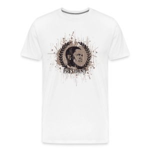My President - Mr. Barack Obama - Men's Premium T-Shirt