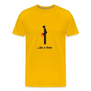 Dick in a Box - Men's Premium T-Shirt