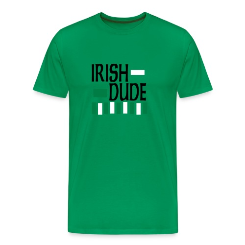 irish dude - Men's Premium T-Shirt