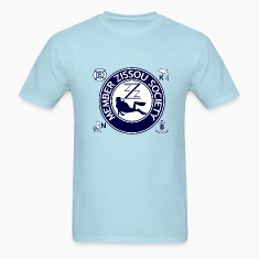 Sky blue Team Zissou Life T-Shirts