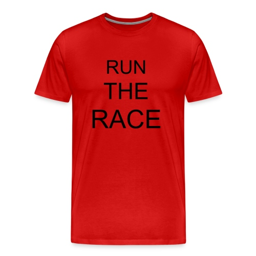 RUN AND WIN - Men's Premium T-Shirt