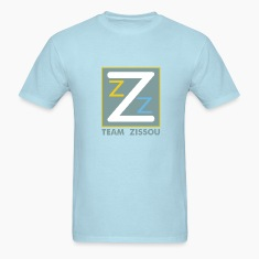 Sky blue Life Aquatic Logo T-Shirts