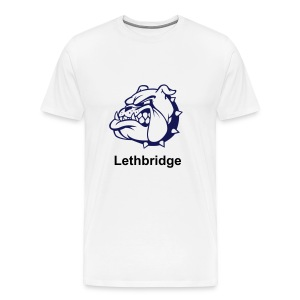 Lethbridge Bulldogs tee. - Men's Premium T-Shirt