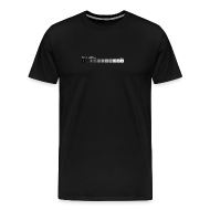 T-Shirts ~ Men's Premium T-Shirt ~ Zone system black men's heavyweight (back + front)