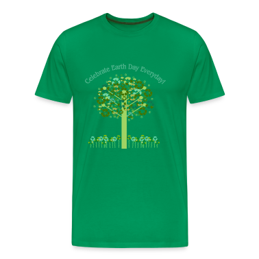 Forest green Celebrate Earth Day Everyday T-Shirts
