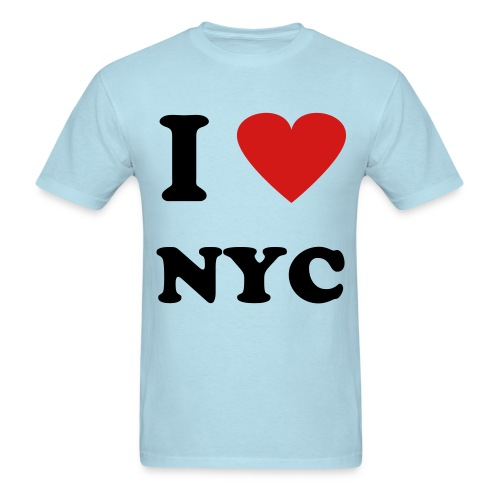 I Love NYC ( Multiple Colors Available!) - Men's T-Shirt