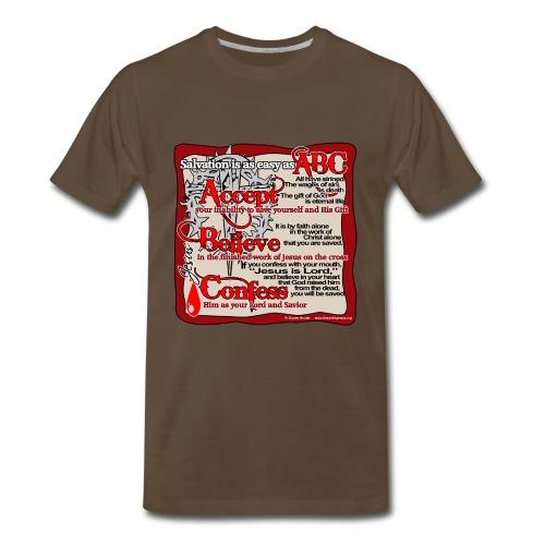 Salvation ABC Color - Men's Premium T-Shirt