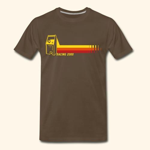 Racing2000 (neon) - Men's Premium T-Shirt