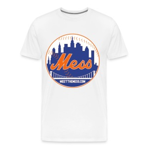 Meet The Mess White T-Shirt - Men's Premium T-Shirt