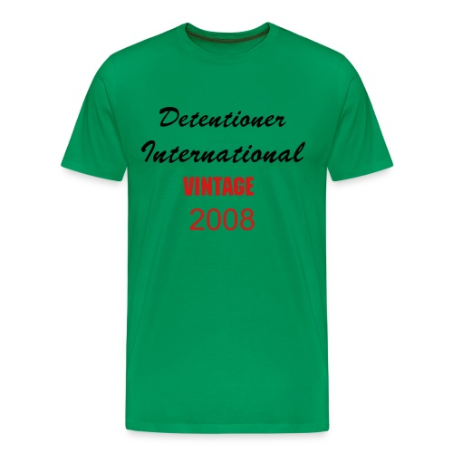 Detentioner International Men's Heavyweight Shirt - Men's Premium T-Shirt