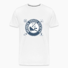 White Team Zissou Aquatic T-Shirts
