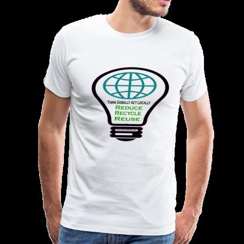 Reduce, recycle, reuse - Men's Premium T-Shirt