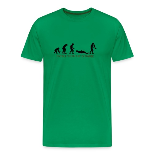 Zombie Evolution - Men's Premium T-Shirt