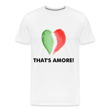Natural ITALIAN LOVE T-Shirts