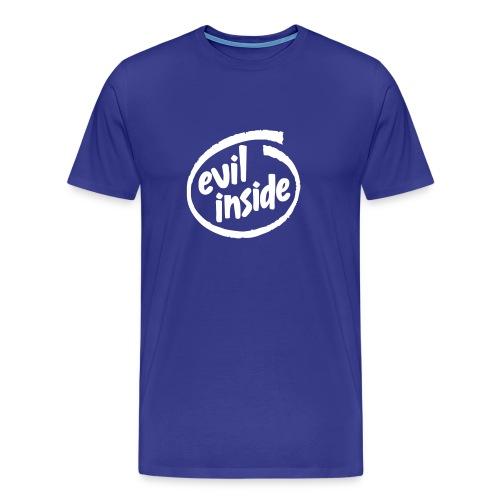 Blue Evil Inside - Men's Premium T-Shirt