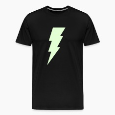 Lightning Bolt T Shirt (Glow in the Dark)