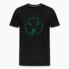 Black Shamrock T-Shirts