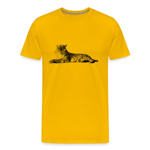 Tiger Men's T-shirt - Modern - Men's Premium T-Shirt