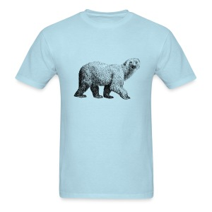 Polar Bear Men's T-shirt - Modern - Men's T-Shirt