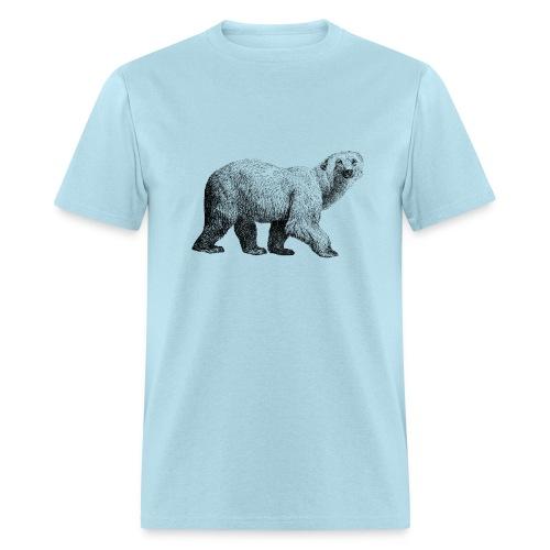 Polar Bear Men's T-shirt - Modern - Men's T-Shirt