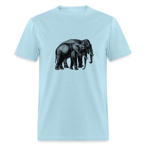 Elephant Men's T-shirt - Modern - Men's T-Shirt