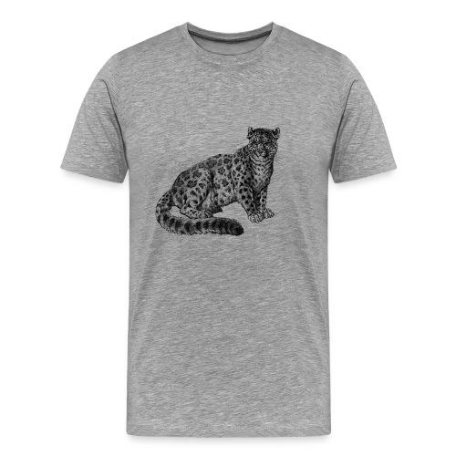 Leopard Men's T-shirt - Modern - Men's Premium T-Shirt