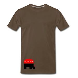 Republican Logo Deconstruction - Men's Premium T-Shirt