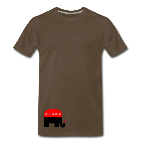Republican Logo Deconstruction - Men's Premium T-Shirt