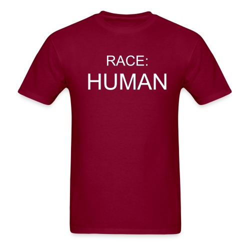 human race t-shirt - Men's T-Shirt