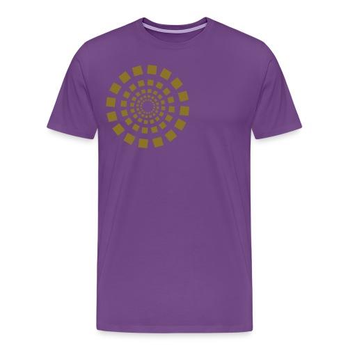 Retro Sun - Men's Premium T-Shirt